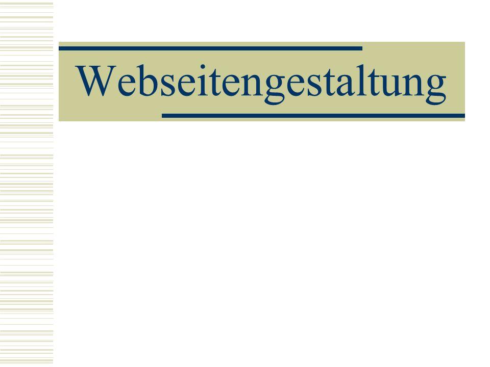 Webseitengestaltung