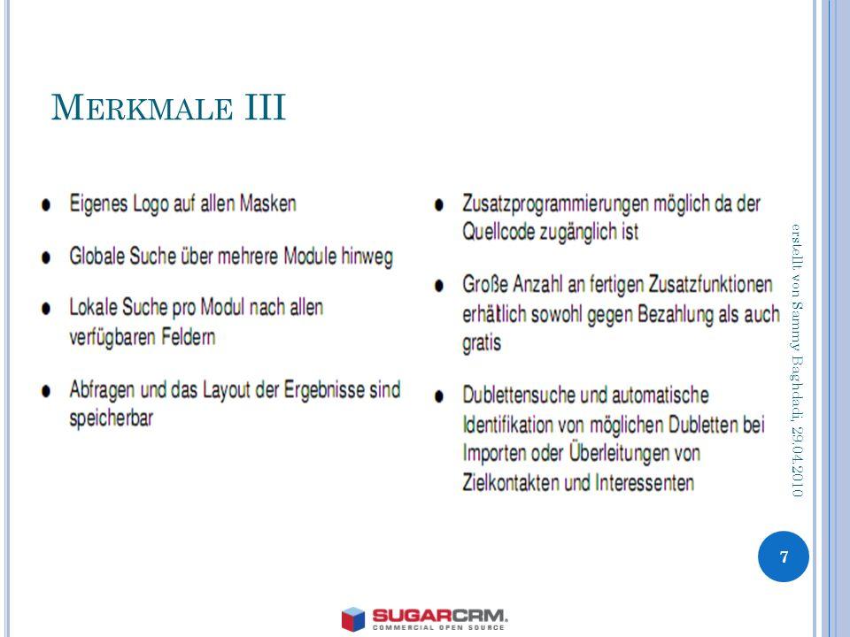M ERKMALE III 7 erstellt von Sammy Baghdadi, 29.04.2010