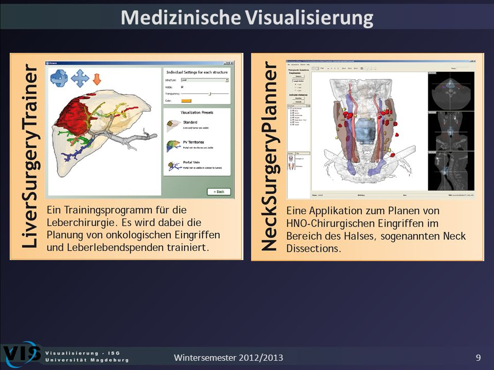 Innovative Benutzungsschnittstellen 10Wintersemester 2012/2013