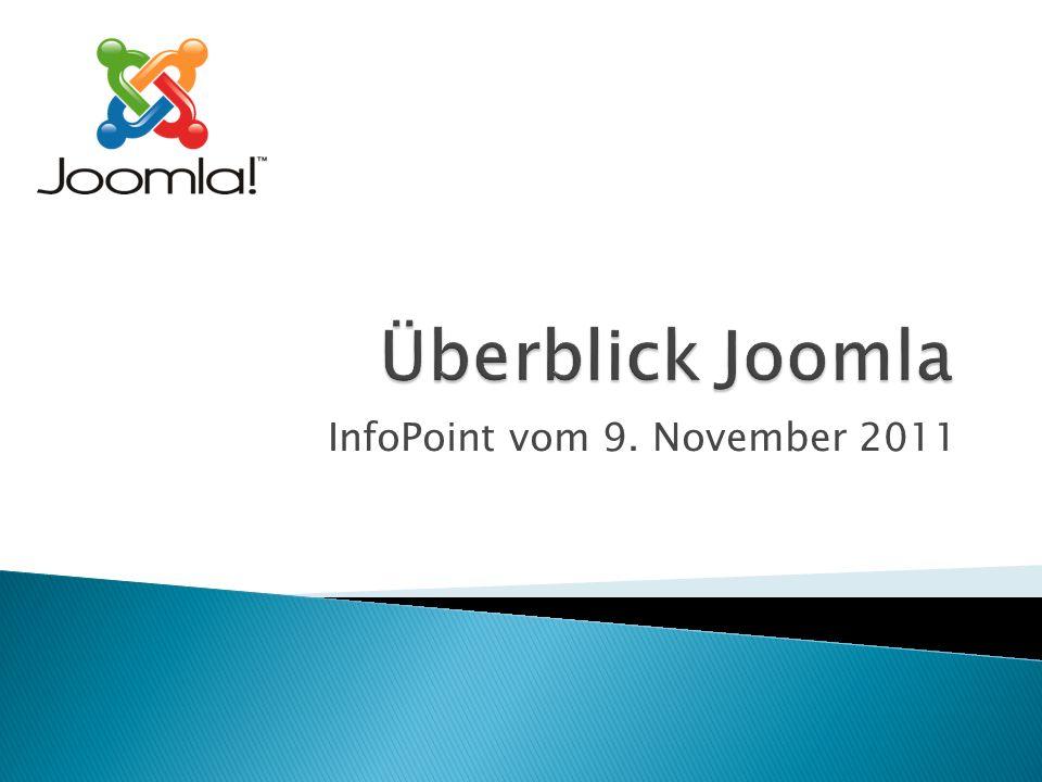 InfoPoint vom 9. November 2011