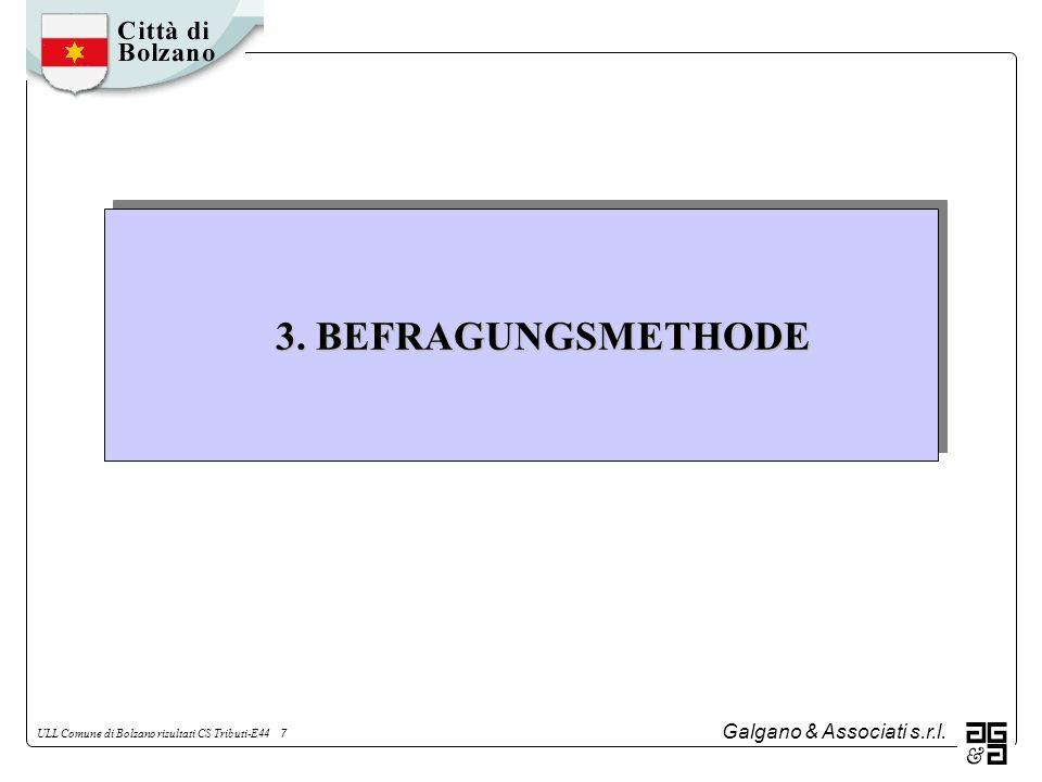 Galgano & Associati s.r.l.ULL Comune di Bolzano risultati CS Tributi-E44 8 3.