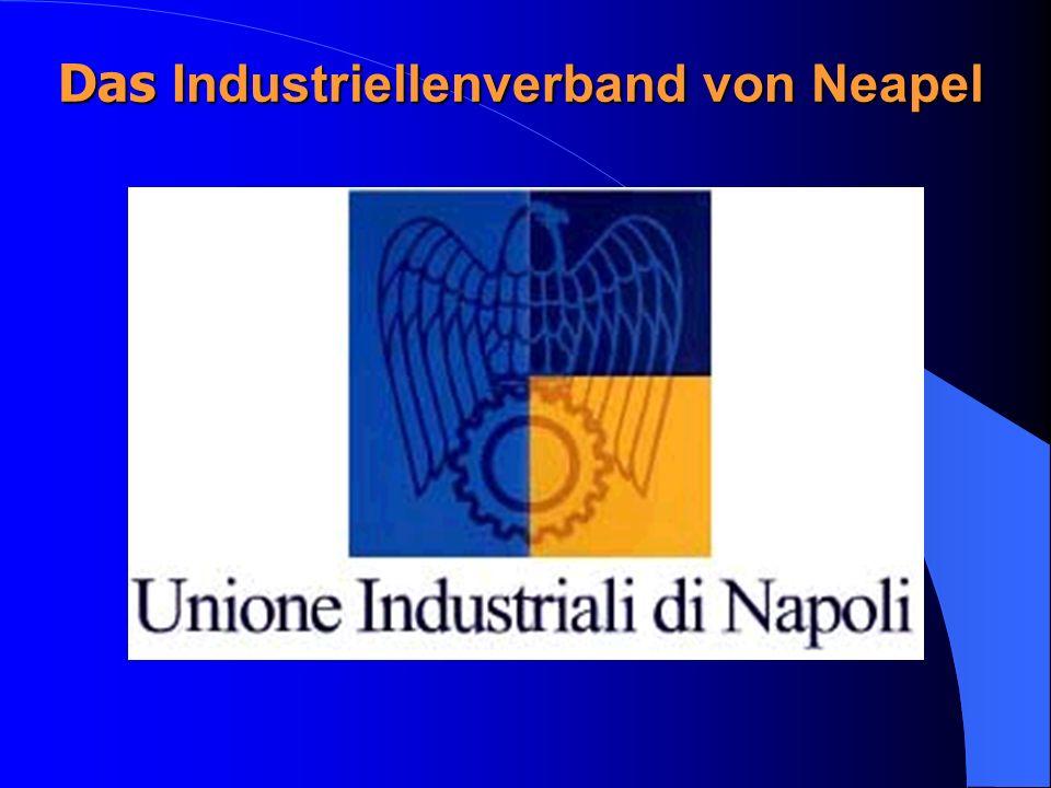 Das Verein Am 18 Januar 1944 das 1917 entstandene Unione Industriali di Napoli hat sich wieder gegründet.