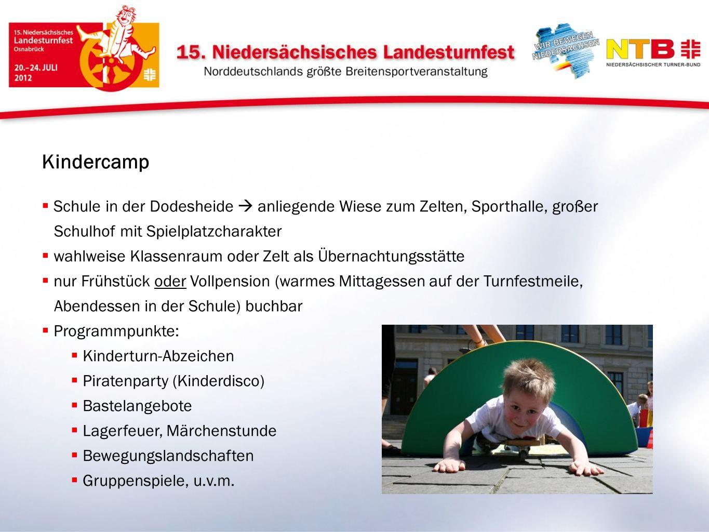 Kindercamp Schule in der Dodesheide anliegende Wiese zum Zelten, Sporthalle, großer Schulhof mit Spielplatzcharakter wahlweise Klassenraum oder Zelt a
