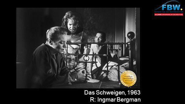 Das Schweigen, 1963 R: Ingmar Bergman