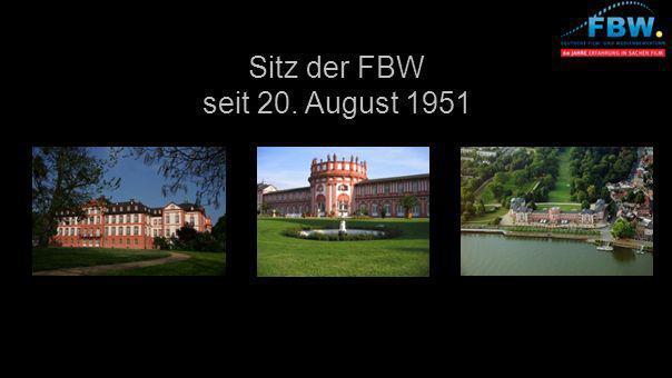 Sitz der FBW seit 20. August 1951