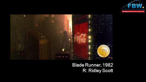 Blade Runner, 1982 R: Ridley Scott