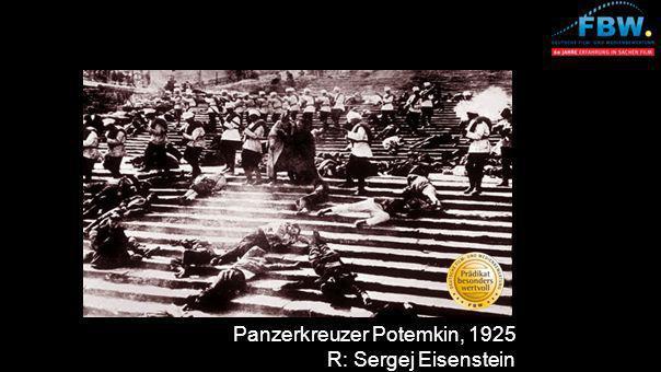 Panzerkreuzer Potemkin, 1925 R: Sergej Eisenstein