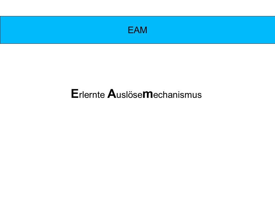 EAM E rlernte A uslöse m echanismus