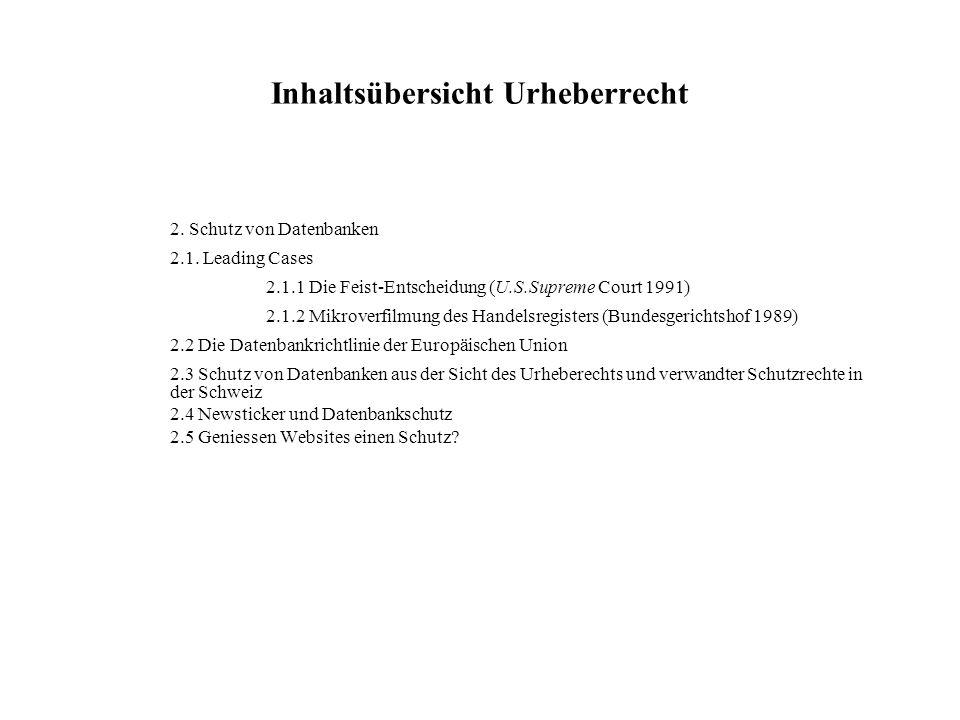 Literatur zum Gliederungspunkt Linking und Framing Bechtold, Stefan (1998): The Link Controversy Home Page.
