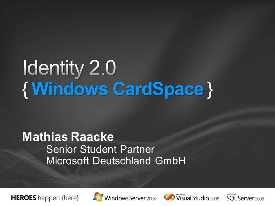 Mathias Raacke Senior Student Partner Microsoft Deutschland GmbH