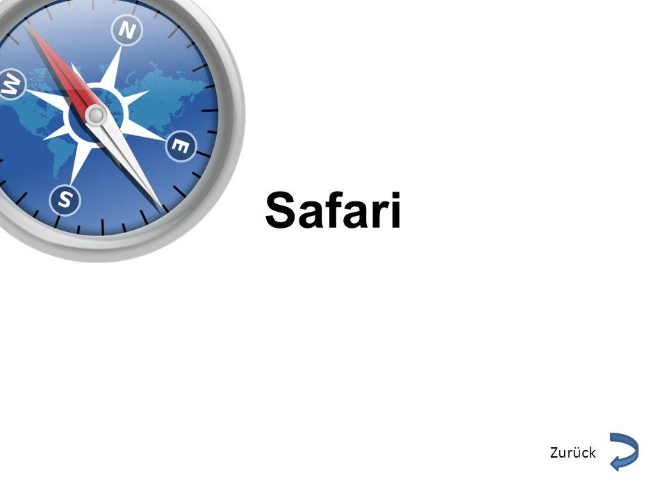 Safari Zurück
