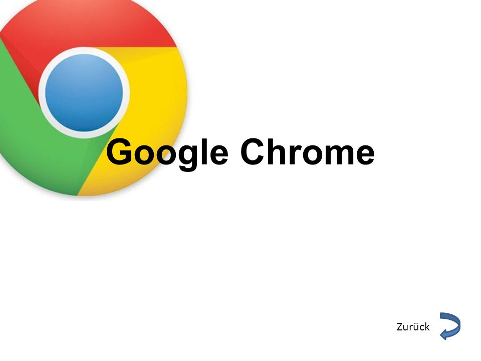 Google Chrome Zurück