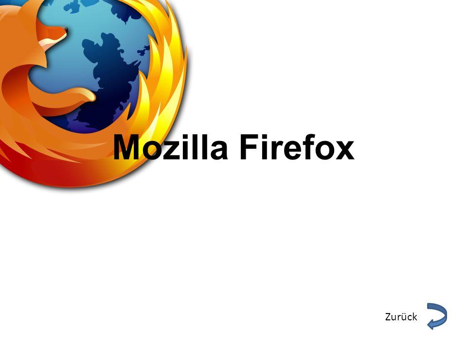 Steckbrief Entwickler: Mozilla Foundation Aktuelle Version: 14.0.1 Betriebssystem:Windows XP/Vista/7 Mac OS X/ iOS Linux Android Deutschsprachig: Ja WebsiteDownloadWebsiteDownload Zurück
