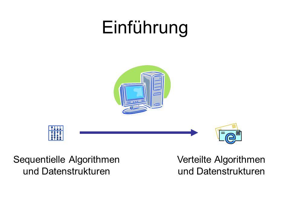 Einführung Sequentielle Algorithmen und Datenstrukturen Verteilte Algorithmen und Datenstrukturen