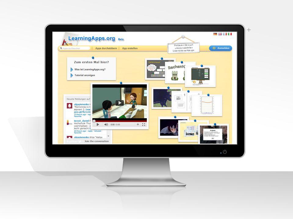 LearningApp Videoeinführung starten