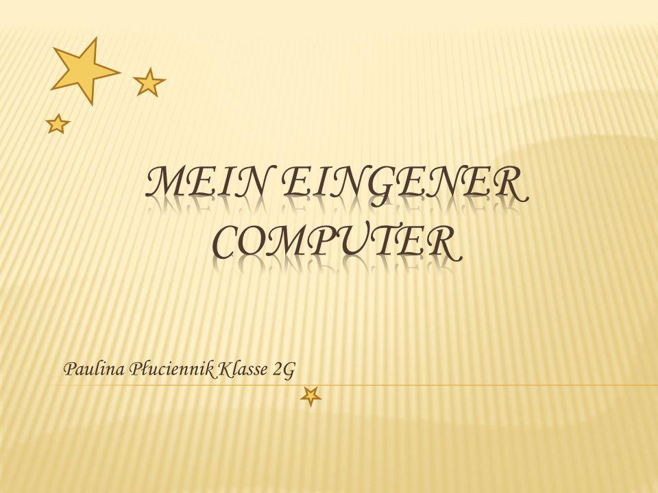 Wir haben zwei Typen von Computern: Der Laptop Hallo.
