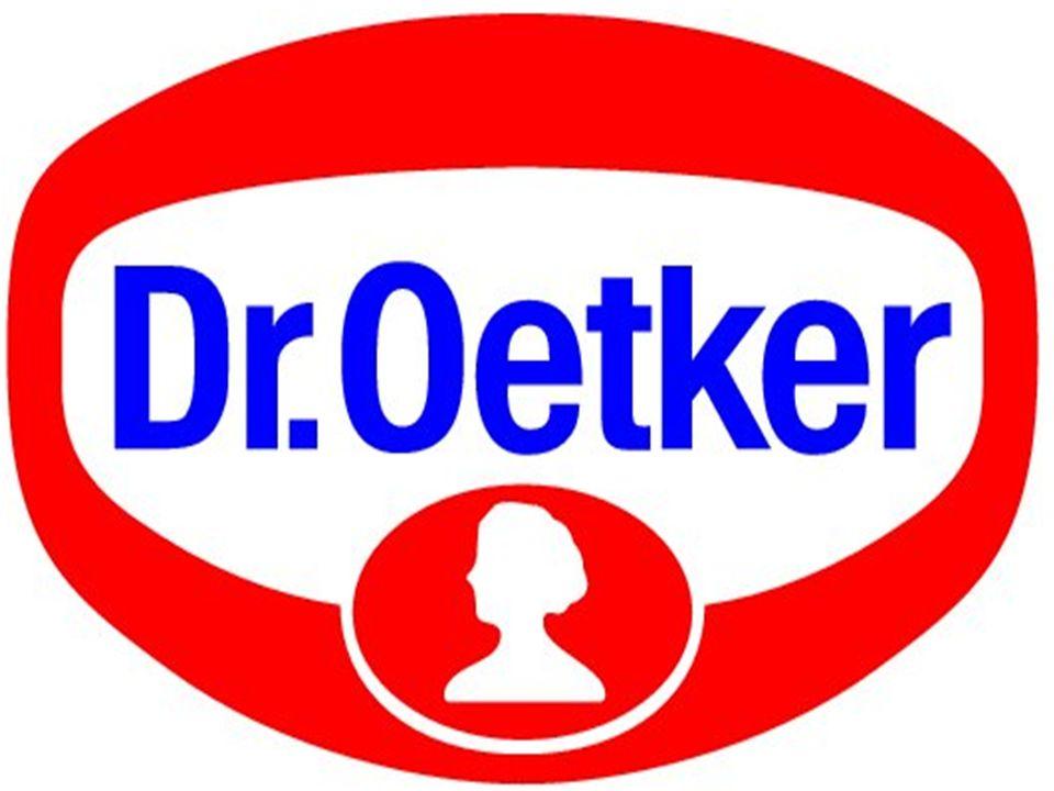 Gründung der Firma In 1890 gründete der Apotheker Dr August Oetker die Firma Dr Oetker In der Hinterstube seiner Apotheke erfand er das Backpulver Backin