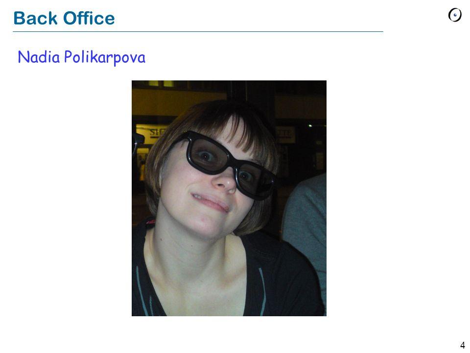 4 Back Office Nadia Polikarpova