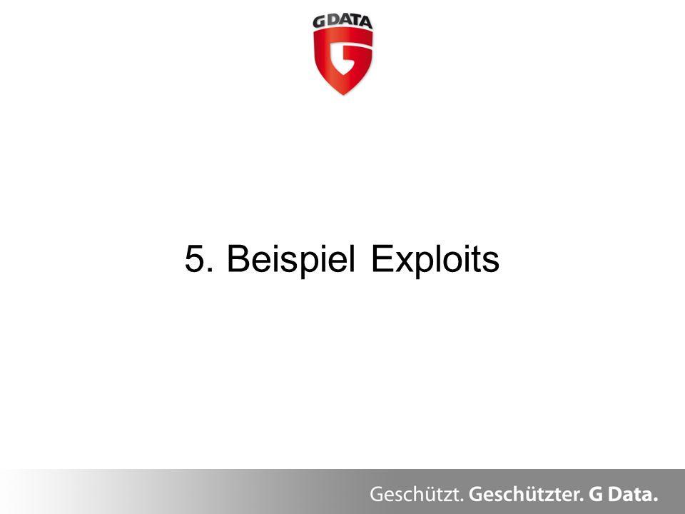 5. Beispiel Exploits