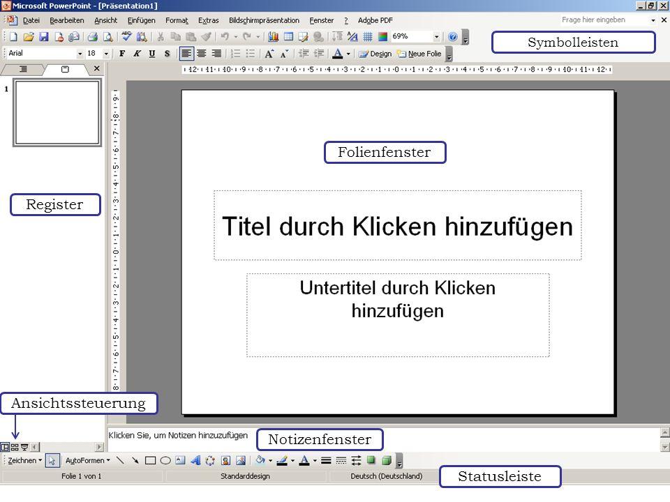 Weitere Designvorlagen einbinden Wenn der Download über den Internet Explorer gestartet wurde, wird eine neue Präsentation mit dem Design geöffnet.