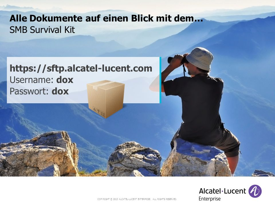 COPYRIGHT © 2013 ALCATEL-LUCENT ENTERPRISE.ALL RIGHTS RESERVED.