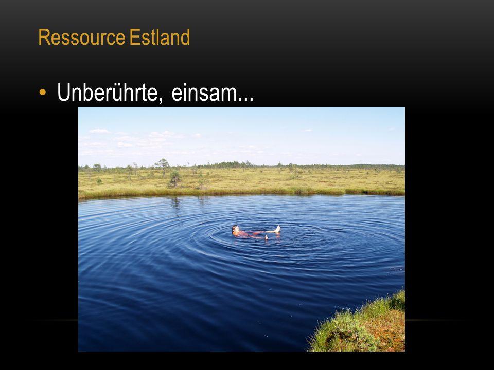 Ressource Estland Unberührte, einsam...