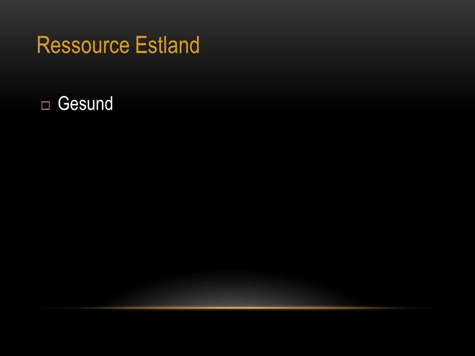 Ressource Estland Gesund