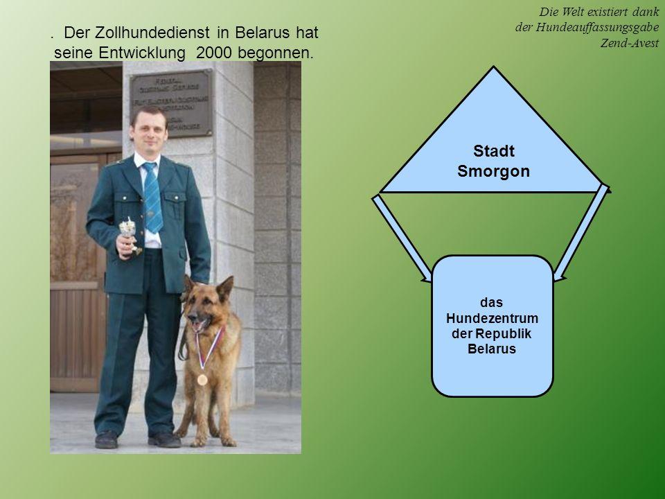 Die Welt existiert dank der Hundeauffassungsgabe Zend-Avest.
