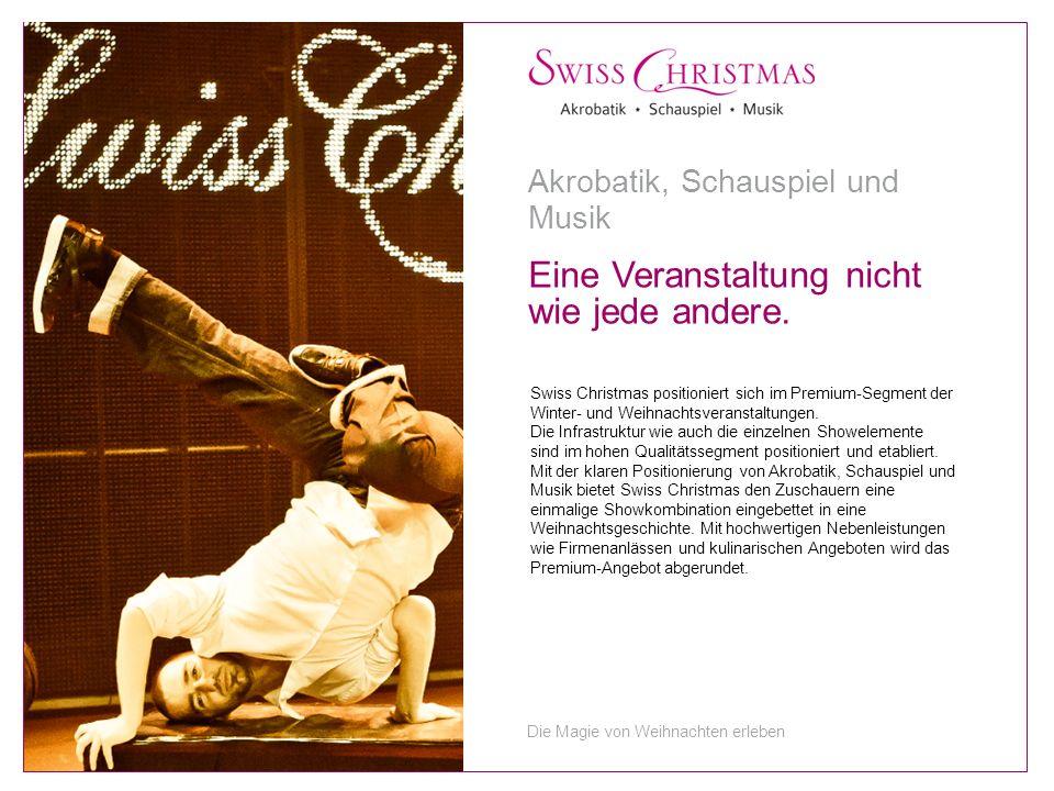 Swiss Christmas positioniert sich im Premium-Segment der Winter- und Weihnachtsveranstaltungen.