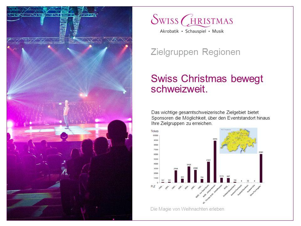 Das wichtige gesamtschweizerische Zielgebiet bietet Sponsoren die Möglichkeit, über den Eventstandort hinaus Ihre Zielgruppen zu erreichen.