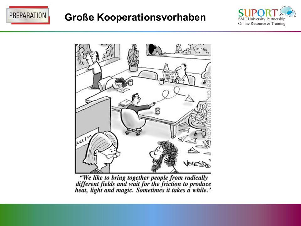 Große Kooperationsvorhaben