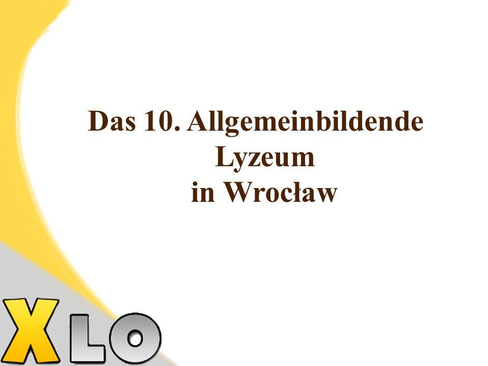Die Bildungsrichtung der Klasse - das erweiterte Programm in Mathematik und Physik, unter dem Patronat der Technischen Hochschule in Wrocław Die Beschreibung der Klasse - die Bildung in dieser Klasse bereitet auf das Studium an der Universität oder an der Technischen Hochschule vor.