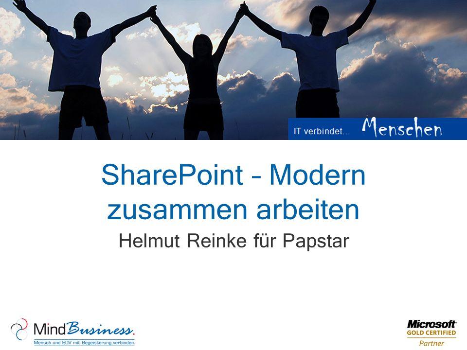 SharePoint – Modern zusammen arbeiten Helmut Reinke für Papstar