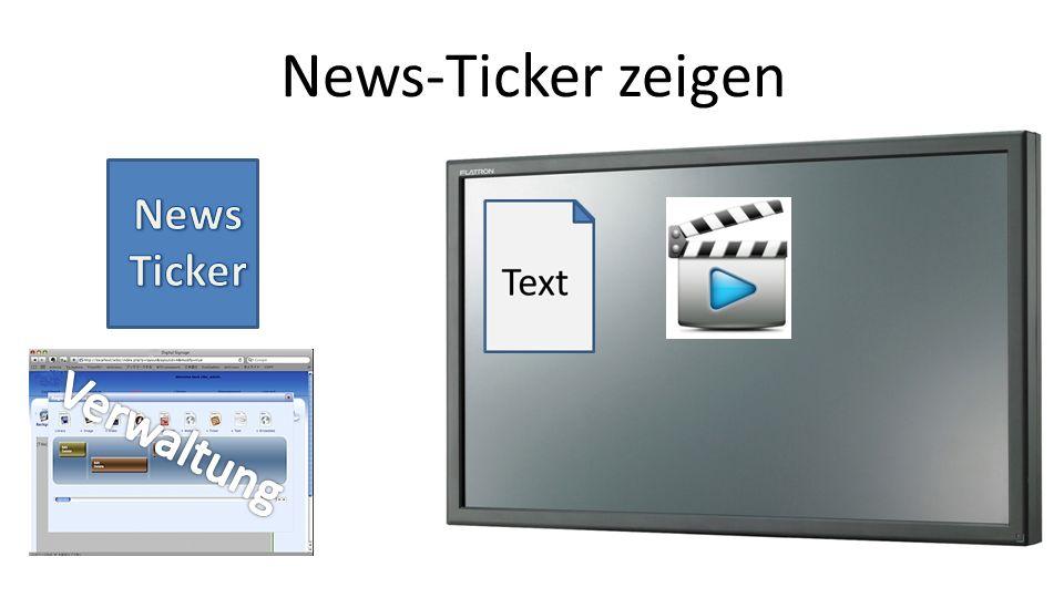 News-Ticker zeigen