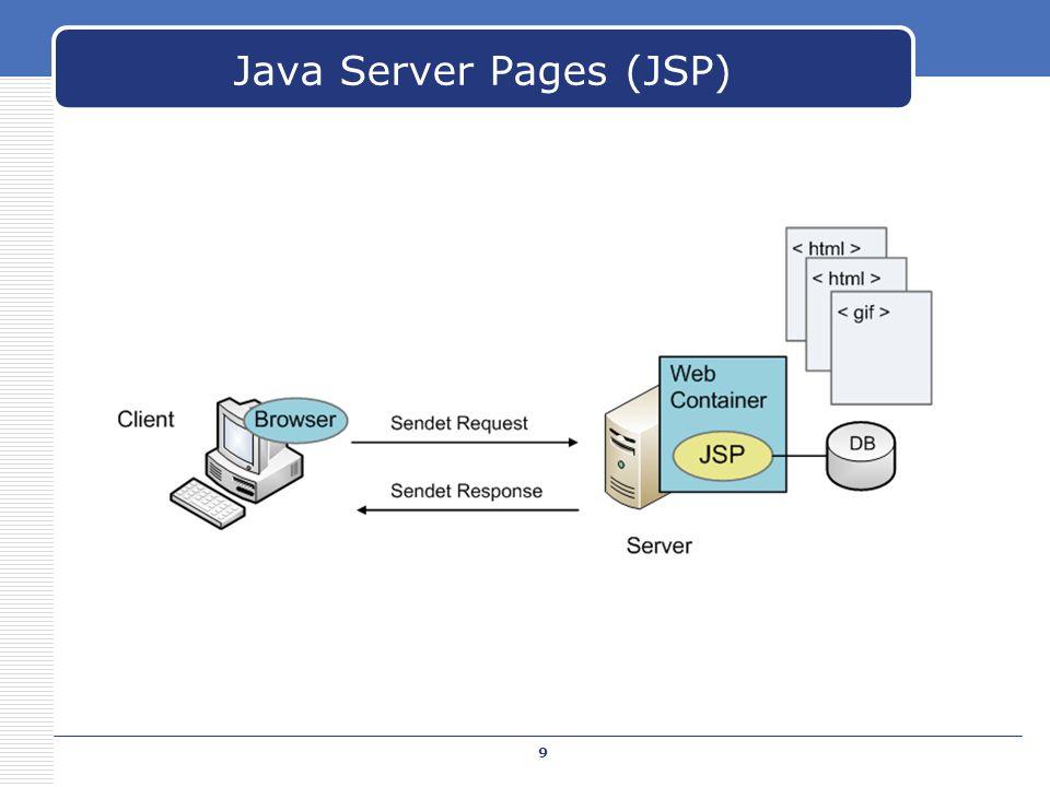 Java Server Pages (JSP) 9