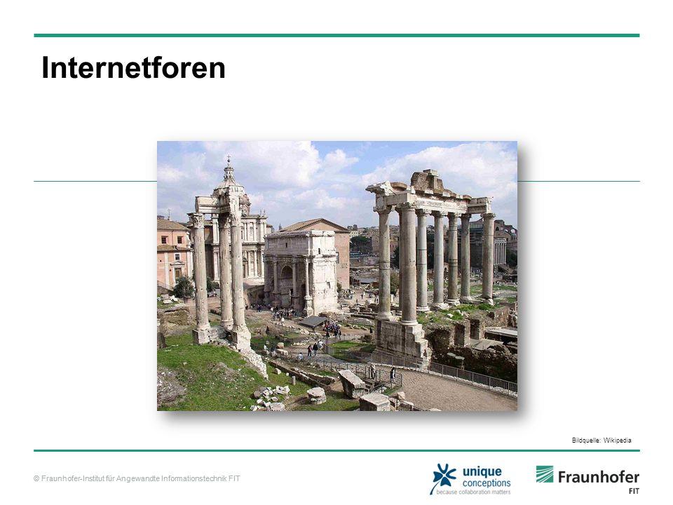 © Fraunhofer-Institut für Angewandte Informationstechnik FIT Conklin, J.
