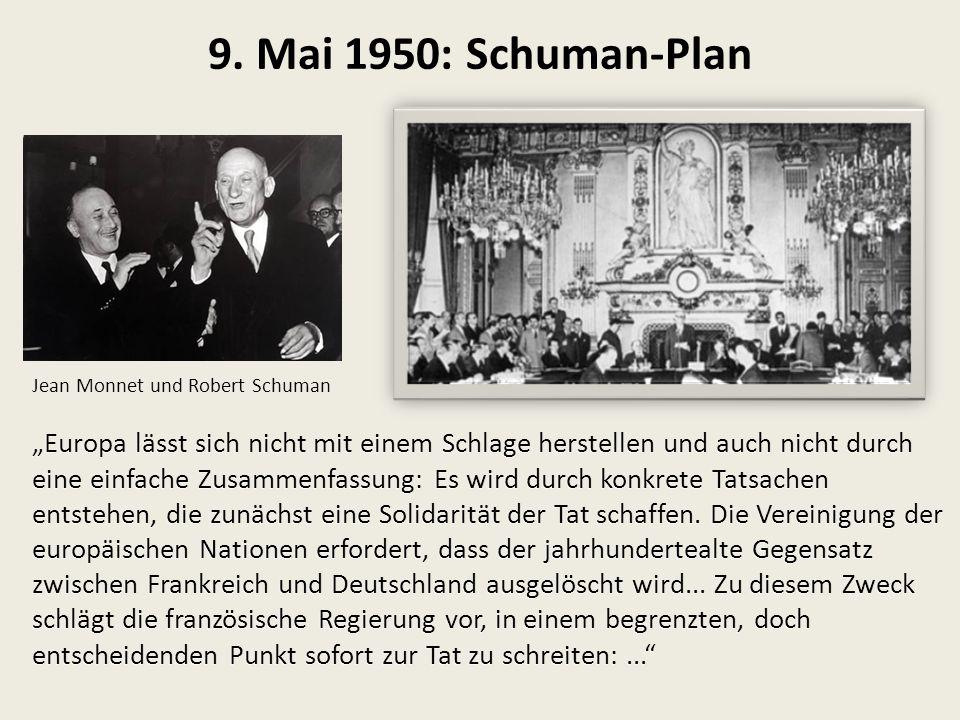 Konzept und Entwicklung der EUEU 1. Historischer Überblick, Zeittafel, ChurchillÜberblick,Zeittafel,Churchill 2. R. Schuman: ein revolutionäres Konzep