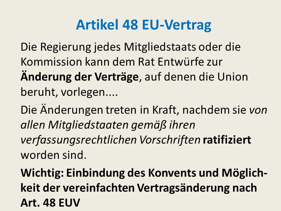 Der Vertrag von Lissabon II Personalisierung-Repräsentation: Präsident des Europäischen Rats (Art. 15 V-VI EUV), Hoher Vertreter mit Doppelhut als Auß