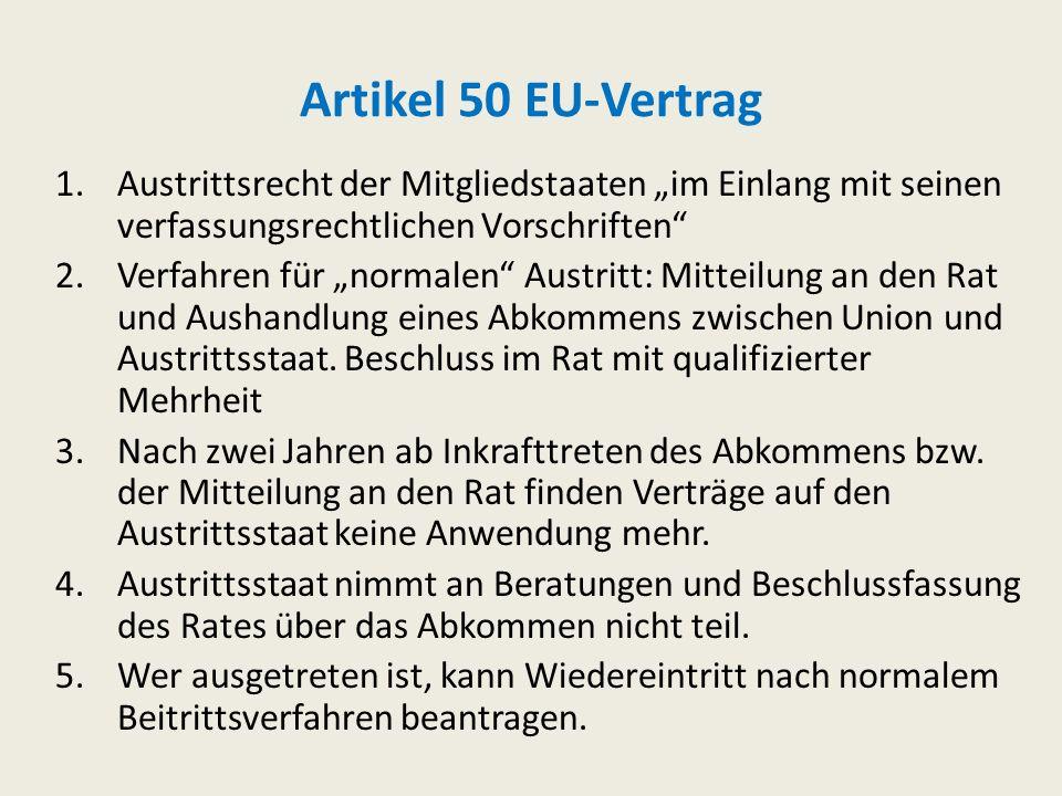 Artikel 49 EU-Vertrag (1) Jeder europäische Staat, der die in Artikel 2 genannten Werte achtet und sich für ihre Förderung einsetzt, kann beantragen,