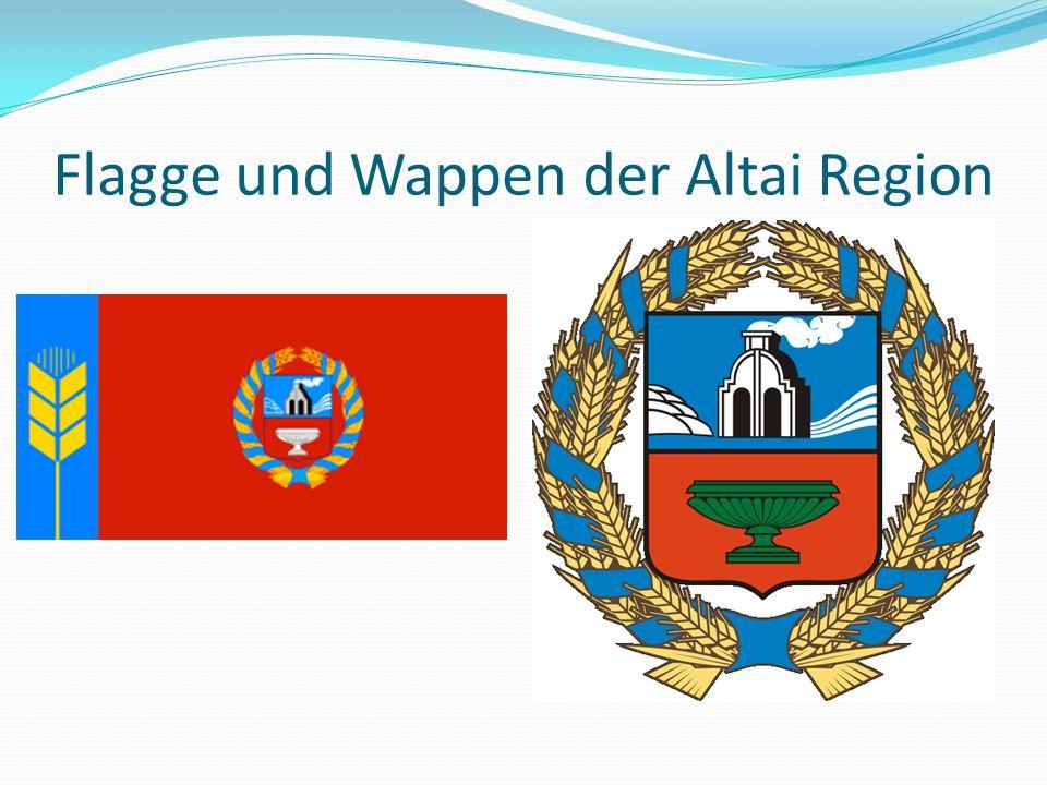 Flagge und Wappen der Altai Region