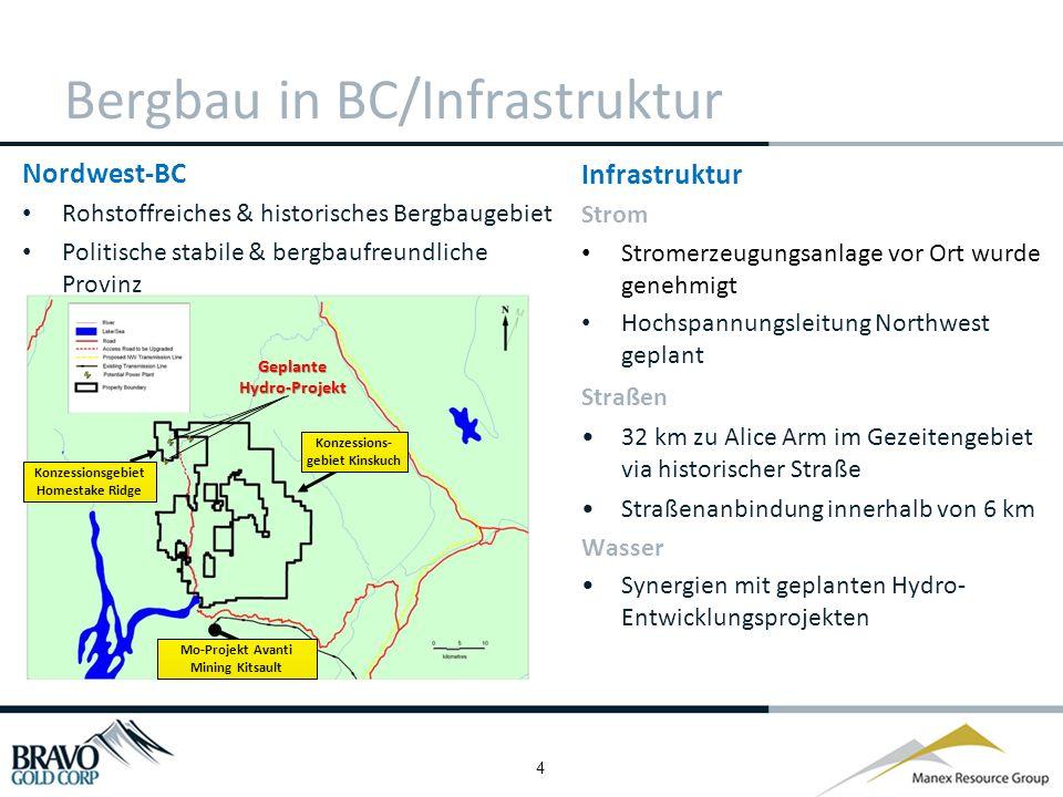 5 Geologie & wichtige Vorkommen im Norden von BC Homestake Ridge = 2.585 Hektar Projekt Kinskuch = 59.600 Hektar Produktiver Edelmetallgürtel Bis dato hat diese Region über 7 Mio.