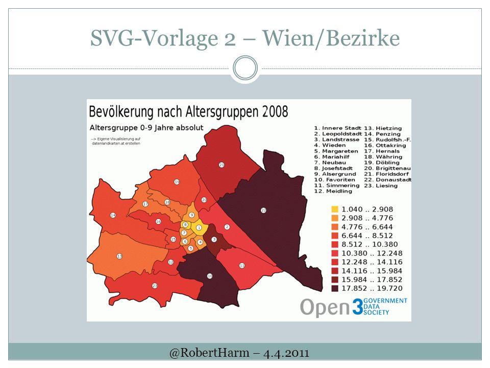 SVG-Vorlage 2 – Wien/Bezirke @RobertHarm – 4.4.2011