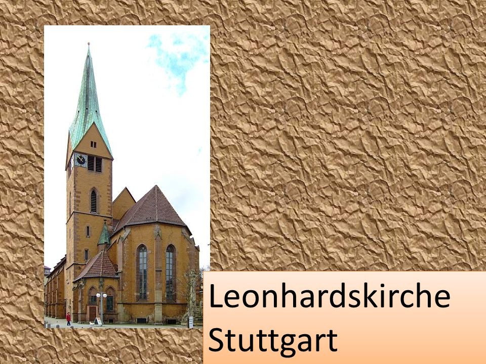 Leonhardskirche Stuttgart