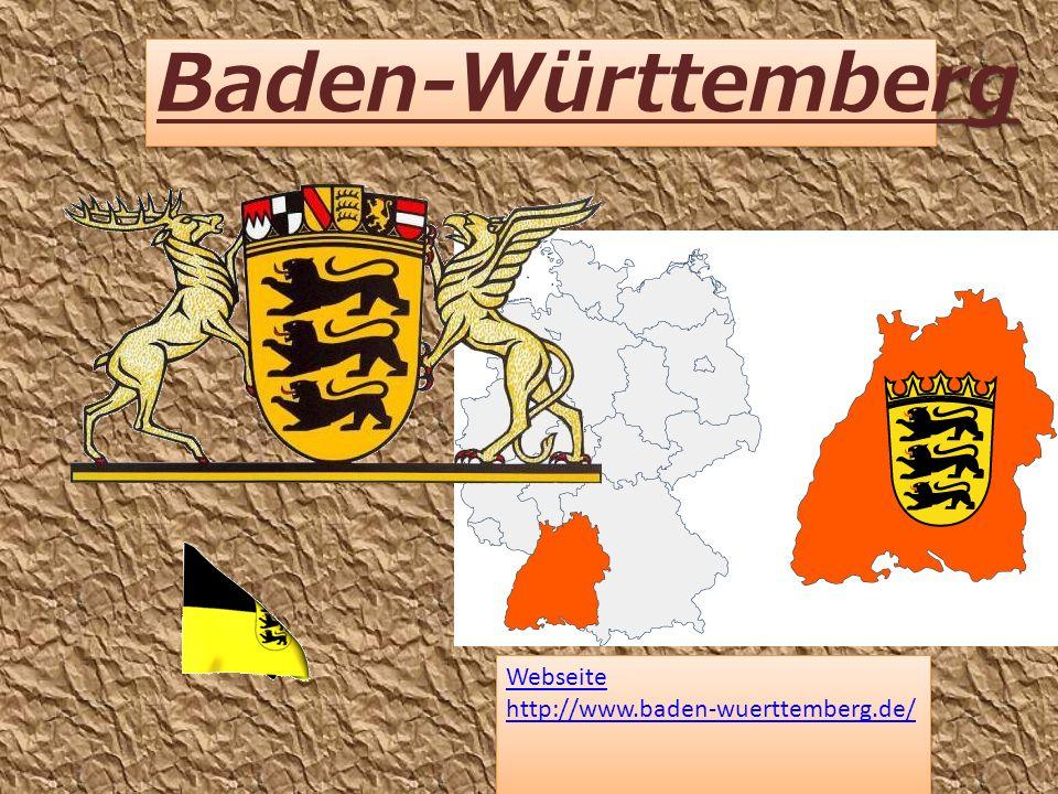 Baden-Württemberg Webseite http://www.baden-wuerttemberg.de/ Webseite http://www.baden-wuerttemberg.de/