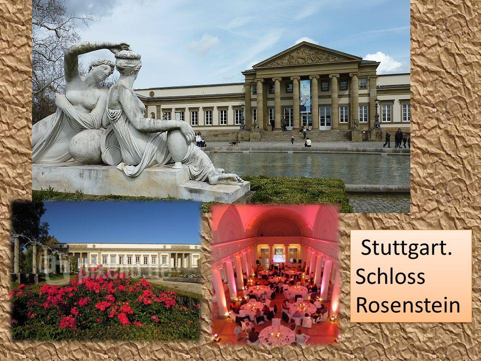 Stuttgart. Schloss Rosenstein