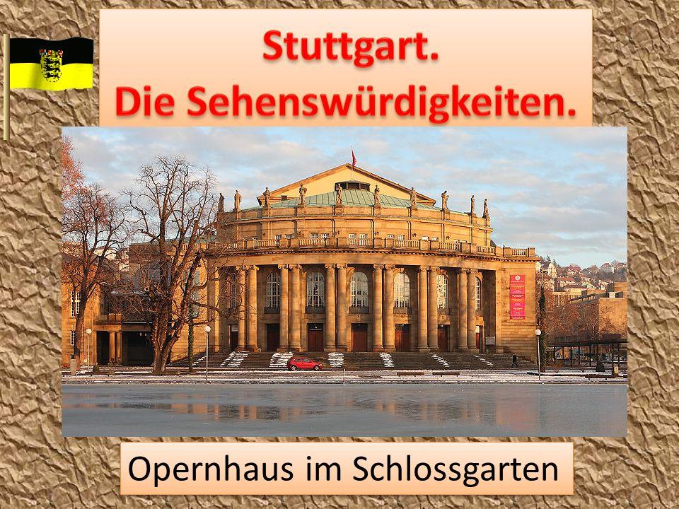 Opernhaus im Schlossgarten
