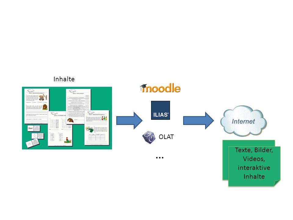 Interaktive E-Learning Inhalte Wenig bis gar keine Interaktivität