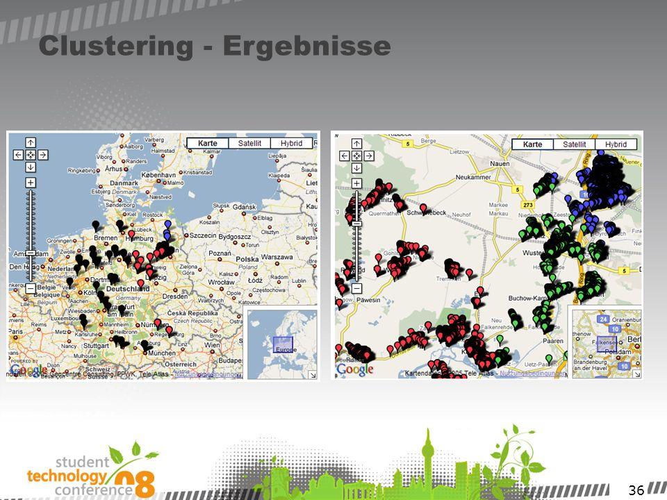 36 Clustering - Ergebnisse