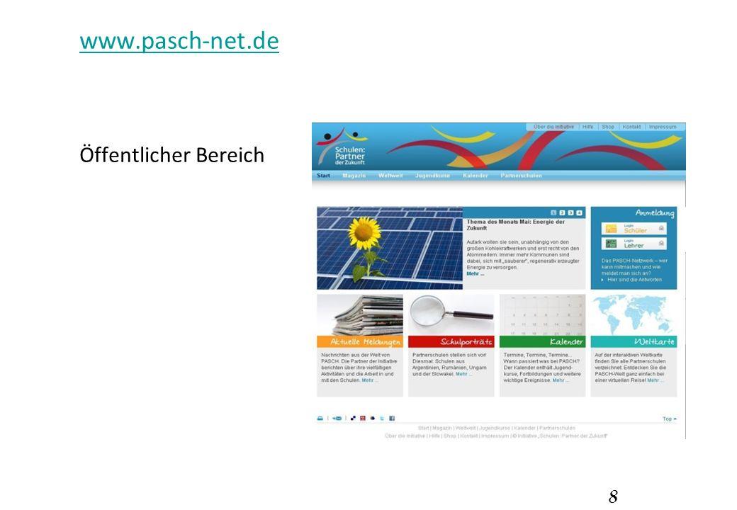 8 www.pasch-net.de Öffentlicher Bereich
