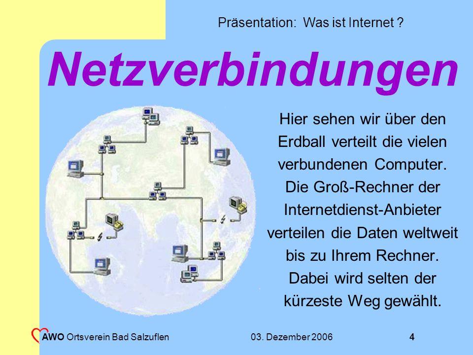 Präsentation: Was ist Internet .03.